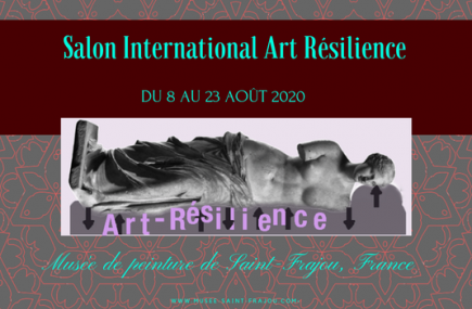 SALON INTERNATIONAL ART RESILIENCE SAINT-FRAJOU : REPORTE