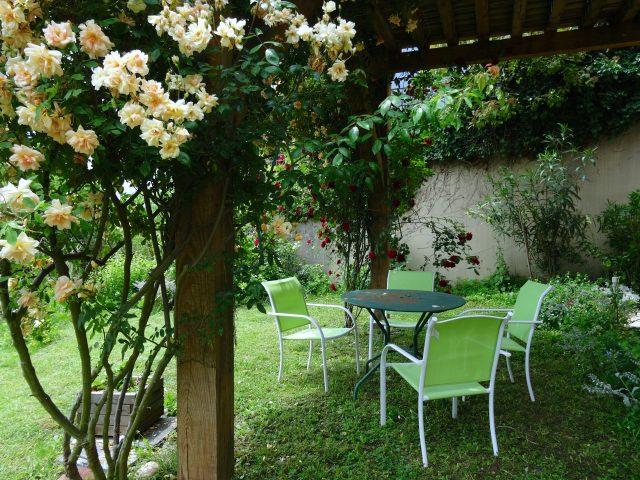 Appartement-Montrejeau—Jardin