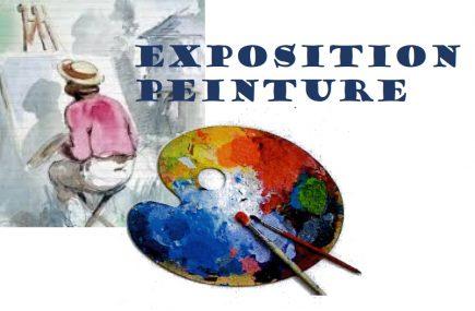 EXPOSITION DE PEINTURES ET OEUVRES D'ART / REPORTÉE
