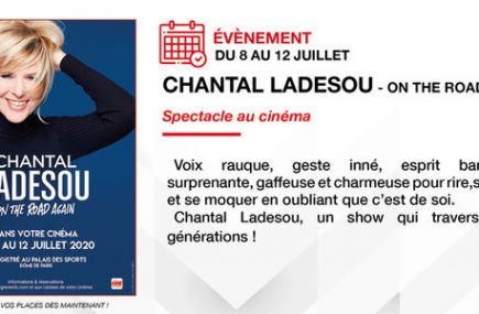 SPECTACLE  : CHANTAL LADESOU – ON THE ROAD AGAIN